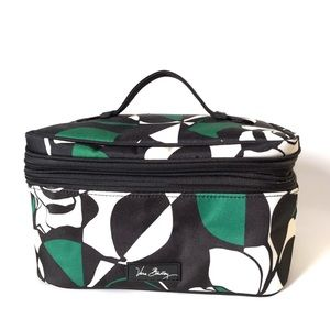 VERA WANG Imperial Rose Print Travel Toiletry Bag